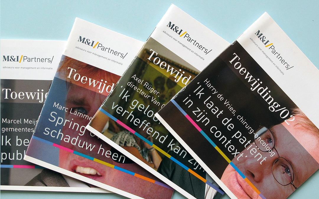 Toewijdingsboekjes M&I/Partners