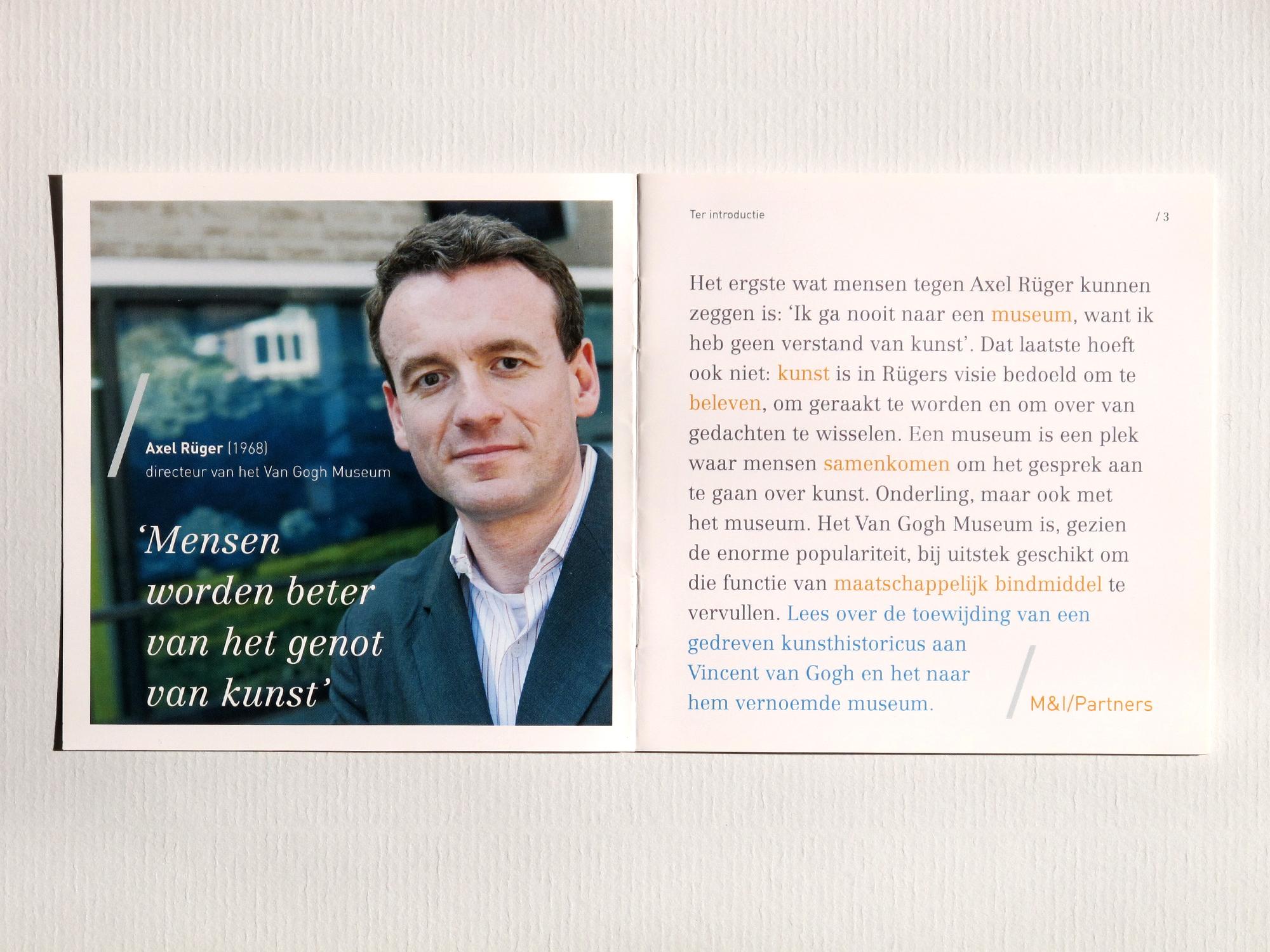 Axel Rüger Toewijdingsboekjes M&I/Partners